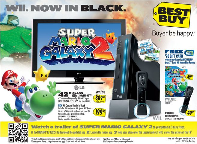 Best Buy 5/23/2010 Ad with QR Code
